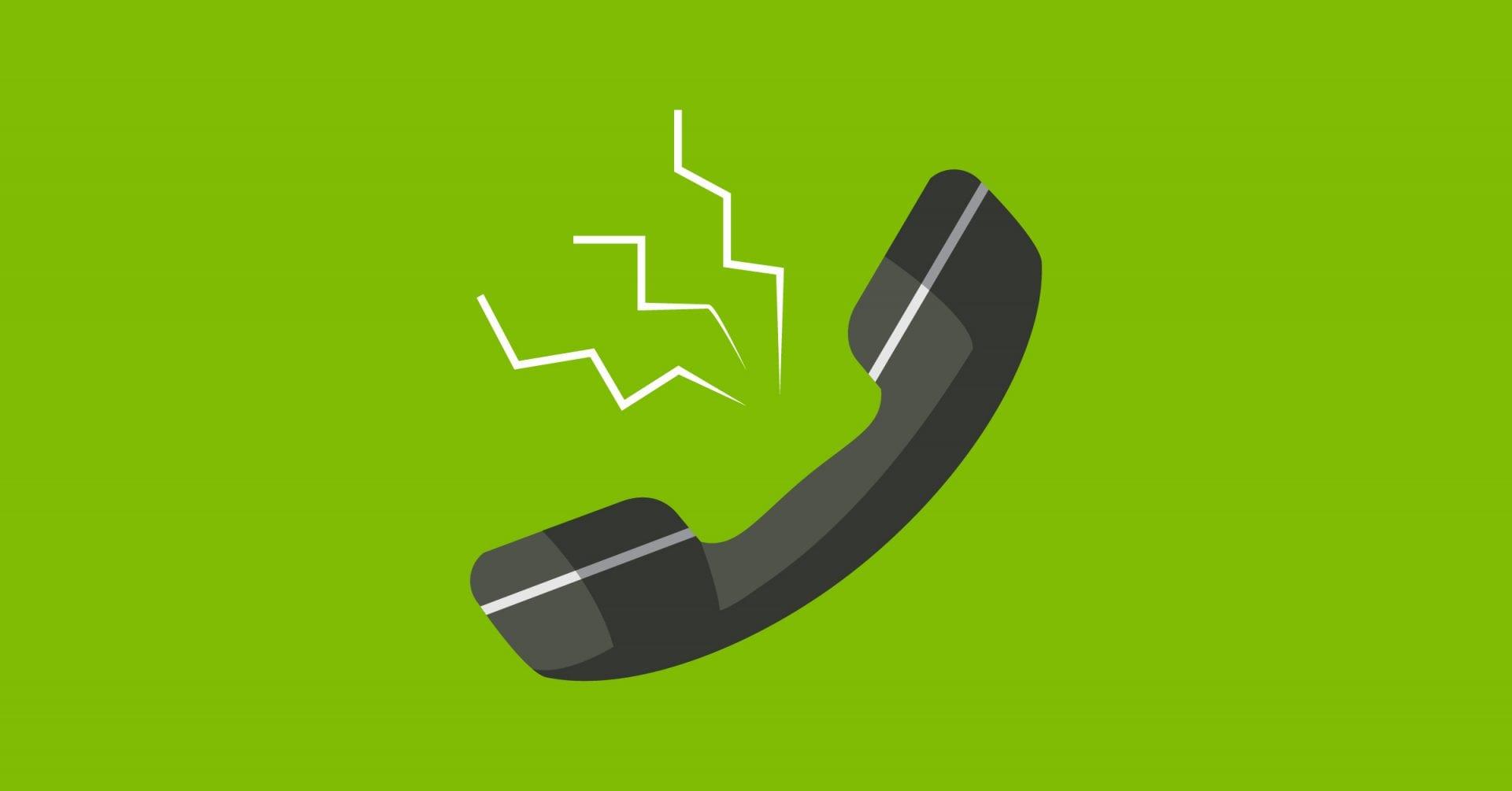 Problèmes téléphoniques