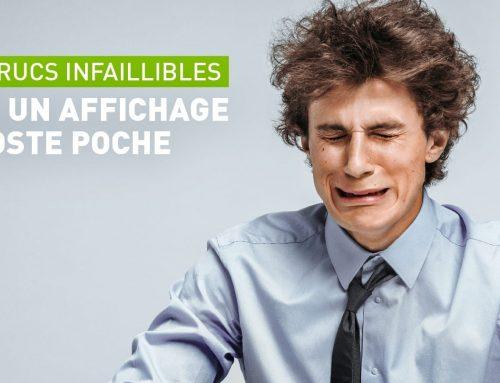 Cinq trucs infaillibles pour un affichage de poste poche